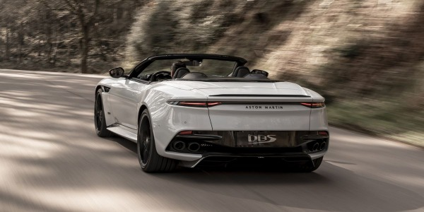 New 2020 Aston Martin DBS Convertible for sale Sold at McLaren Greenwich in Greenwich CT 06830 3