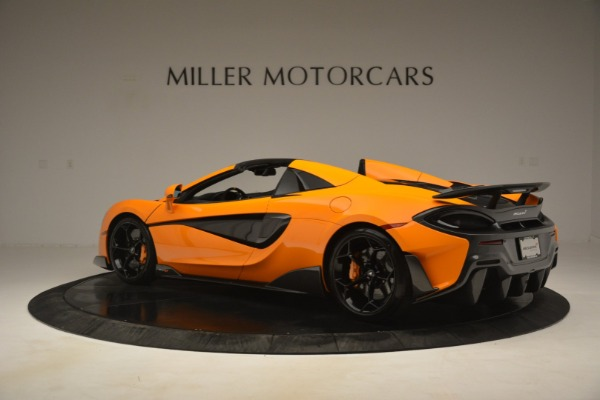 New 2020 McLaren 600LT Spider Convertible for sale Sold at McLaren Greenwich in Greenwich CT 06830 4
