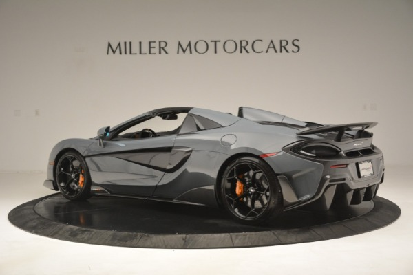 New 2020 McLaren 600LT Spider Convertible for sale Sold at McLaren Greenwich in Greenwich CT 06830 4