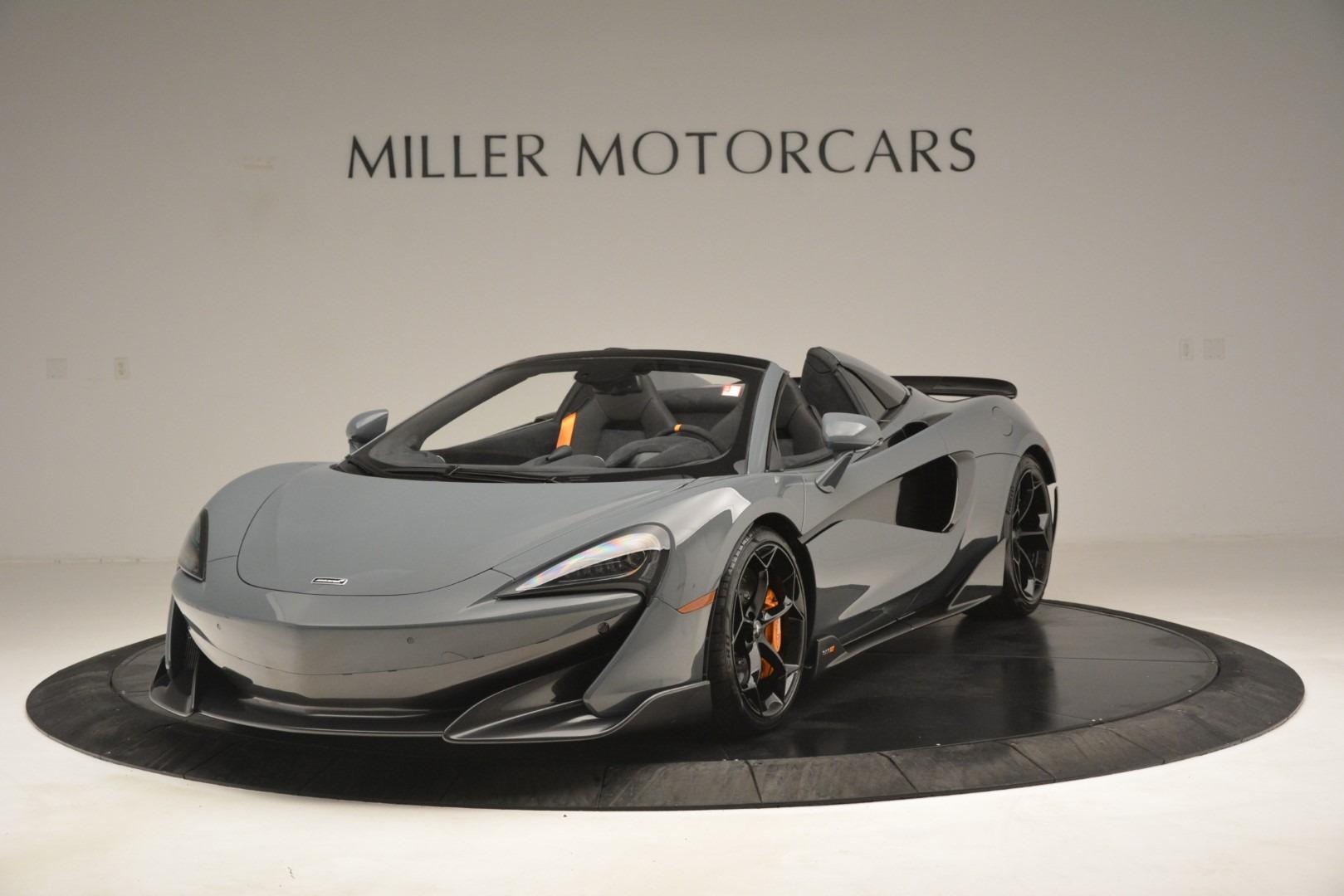 New 2020 McLaren 600LT Spider Convertible for sale Sold at McLaren Greenwich in Greenwich CT 06830 1