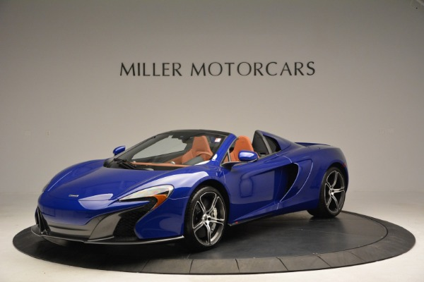 Used 2015 McLaren 650S Spider Convertible for sale Sold at McLaren Greenwich in Greenwich CT 06830 1