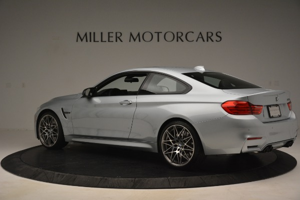 Used 2017 BMW M4 Competition PKG for sale Sold at McLaren Greenwich in Greenwich CT 06830 4