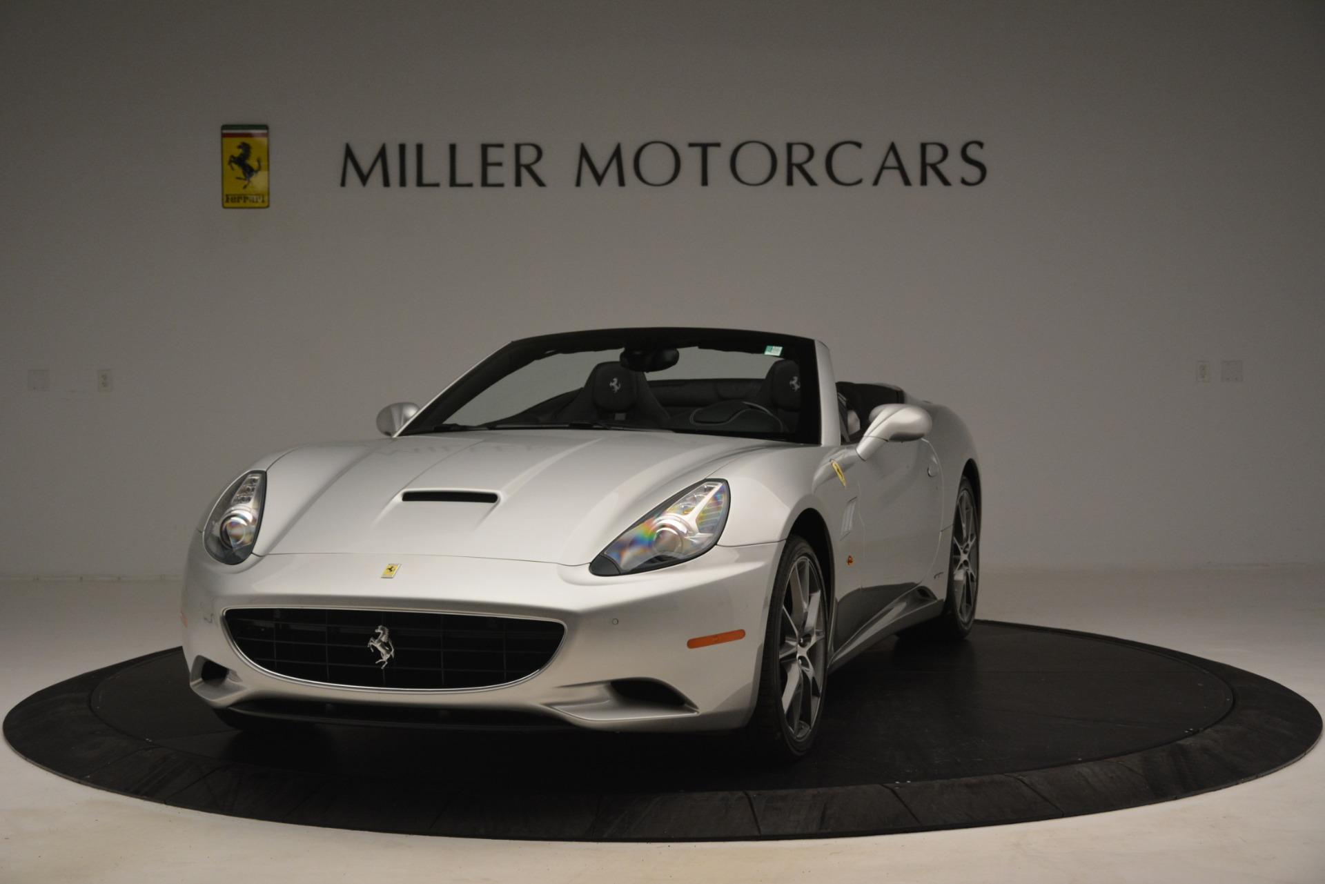 Used 2012 Ferrari California for sale Sold at McLaren Greenwich in Greenwich CT 06830 1