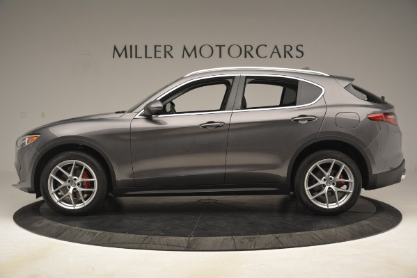 New 2019 Alfa Romeo Stelvio Ti Lusso Q4 for sale Sold at McLaren Greenwich in Greenwich CT 06830 3