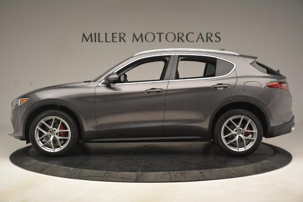 New 2019 Alfa Romeo Stelvio Ti Lusso Q4 for sale $54,390 at McLaren Greenwich in Greenwich CT 06830 3