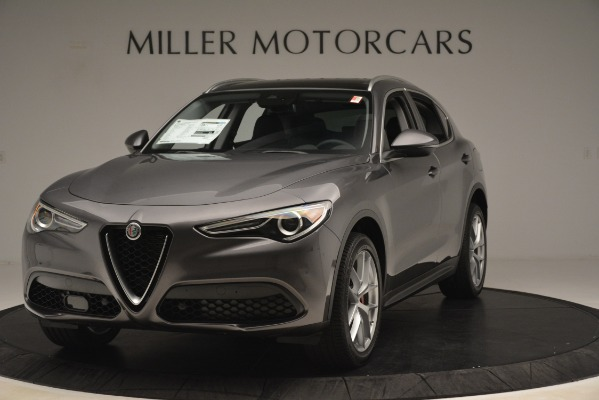 New 2019 Alfa Romeo Stelvio Ti Lusso Q4 for sale $54,390 at McLaren Greenwich in Greenwich CT 06830 1