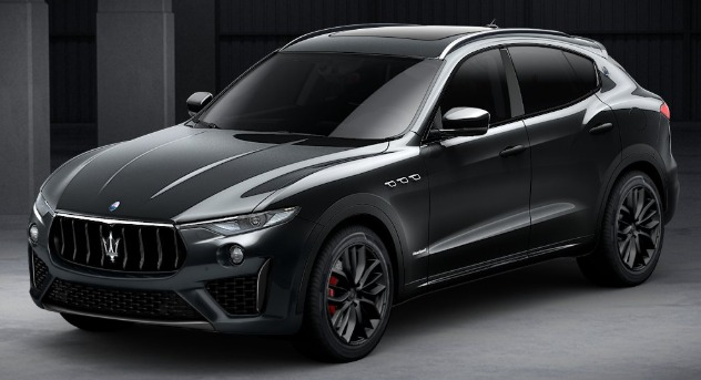 New 2019 Maserati Levante SQ4 GranSport Nerissimo for sale Sold at McLaren Greenwich in Greenwich CT 06830 1