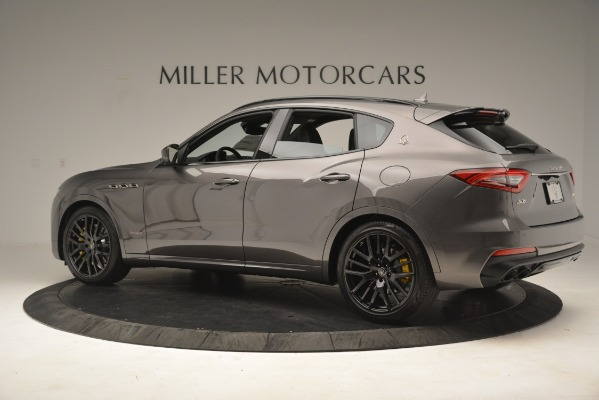 New 2019 Maserati Levante SQ4 GranSport Nerissimo for sale Sold at McLaren Greenwich in Greenwich CT 06830 4