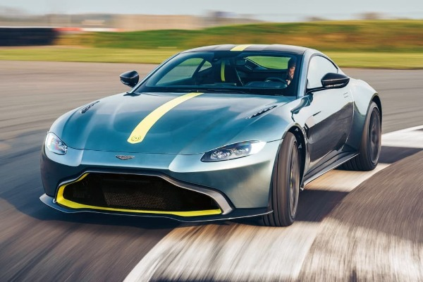 New 2020 Aston Martin Vantage AMR Coupe for sale Call for price at McLaren Greenwich in Greenwich CT 06830 1