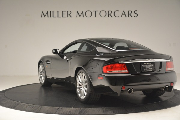 Used 2004 Aston Martin V12 Vanquish for sale Sold at McLaren Greenwich in Greenwich CT 06830 3
