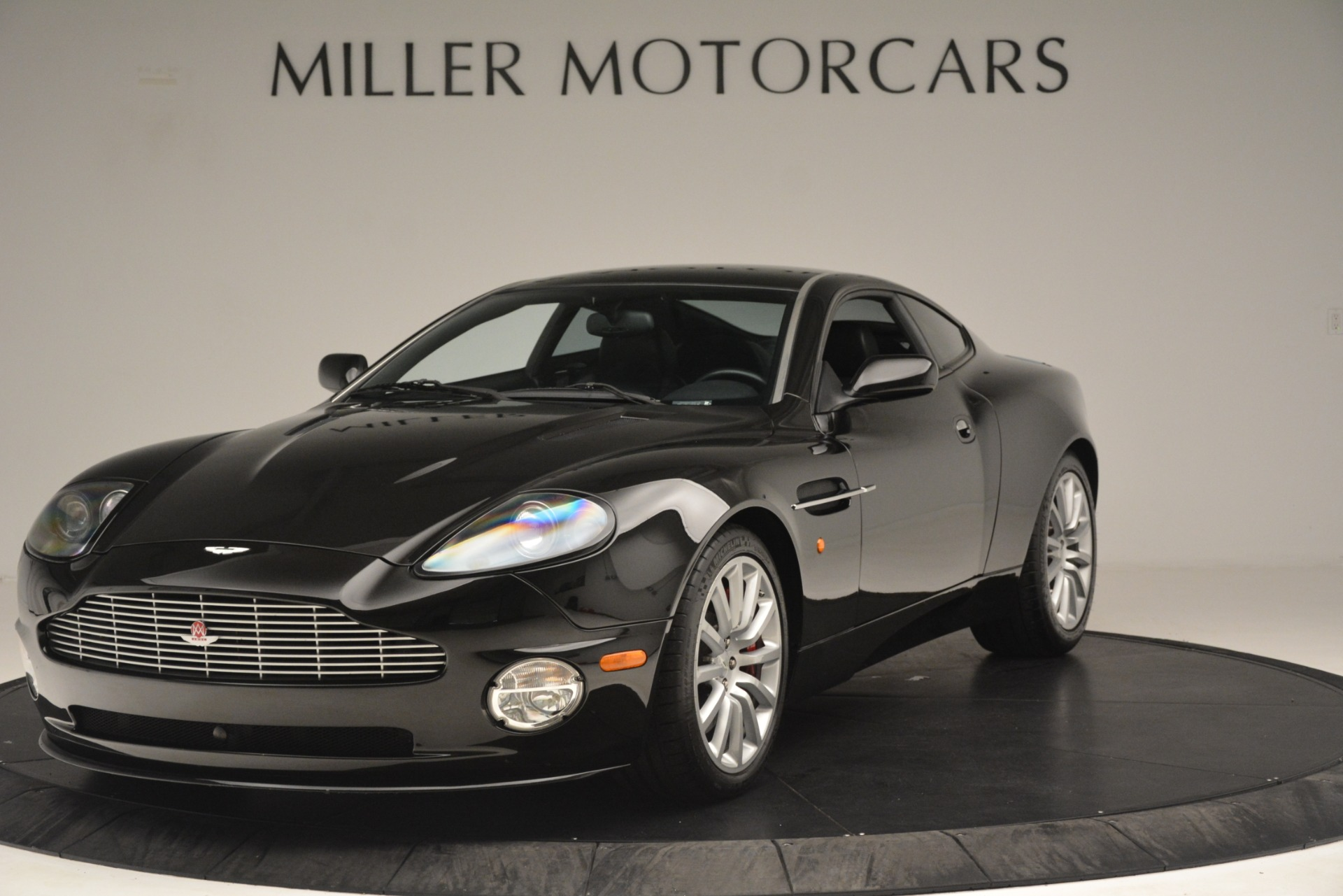 Used 2004 Aston Martin V12 Vanquish for sale Sold at McLaren Greenwich in Greenwich CT 06830 1