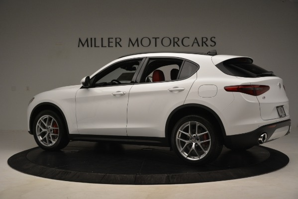New 2019 Alfa Romeo Stelvio Ti Sport Q4 for sale Sold at McLaren Greenwich in Greenwich CT 06830 4