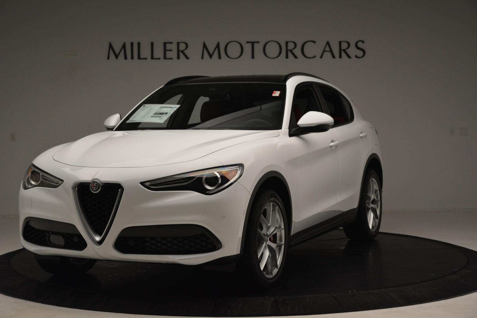 New 2019 Alfa Romeo Stelvio Ti Sport Q4 for sale Sold at McLaren Greenwich in Greenwich CT 06830 1