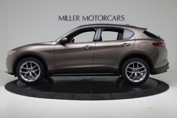 New 2019 Alfa Romeo Stelvio Ti Sport Q4 for sale Sold at McLaren Greenwich in Greenwich CT 06830 3