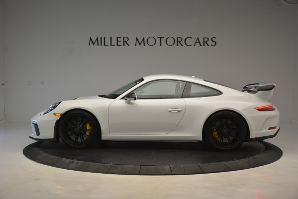 Used 2018 Porsche 911 GT3 for sale Sold at McLaren Greenwich in Greenwich CT 06830 2