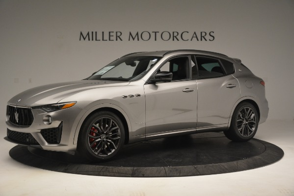 New 2019 Maserati Levante SQ4 GranSport Nerissimo for sale Sold at McLaren Greenwich in Greenwich CT 06830 2