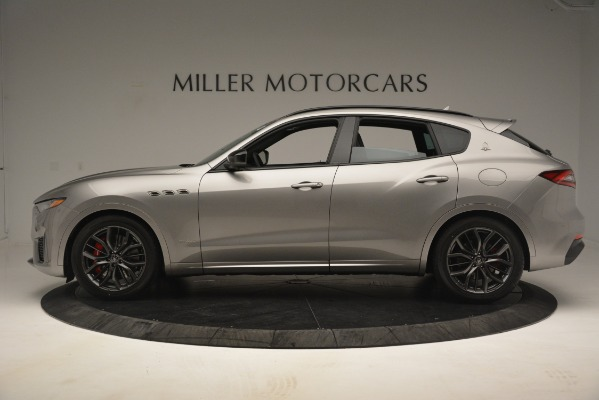 New 2019 Maserati Levante SQ4 GranSport Nerissimo for sale Sold at McLaren Greenwich in Greenwich CT 06830 3