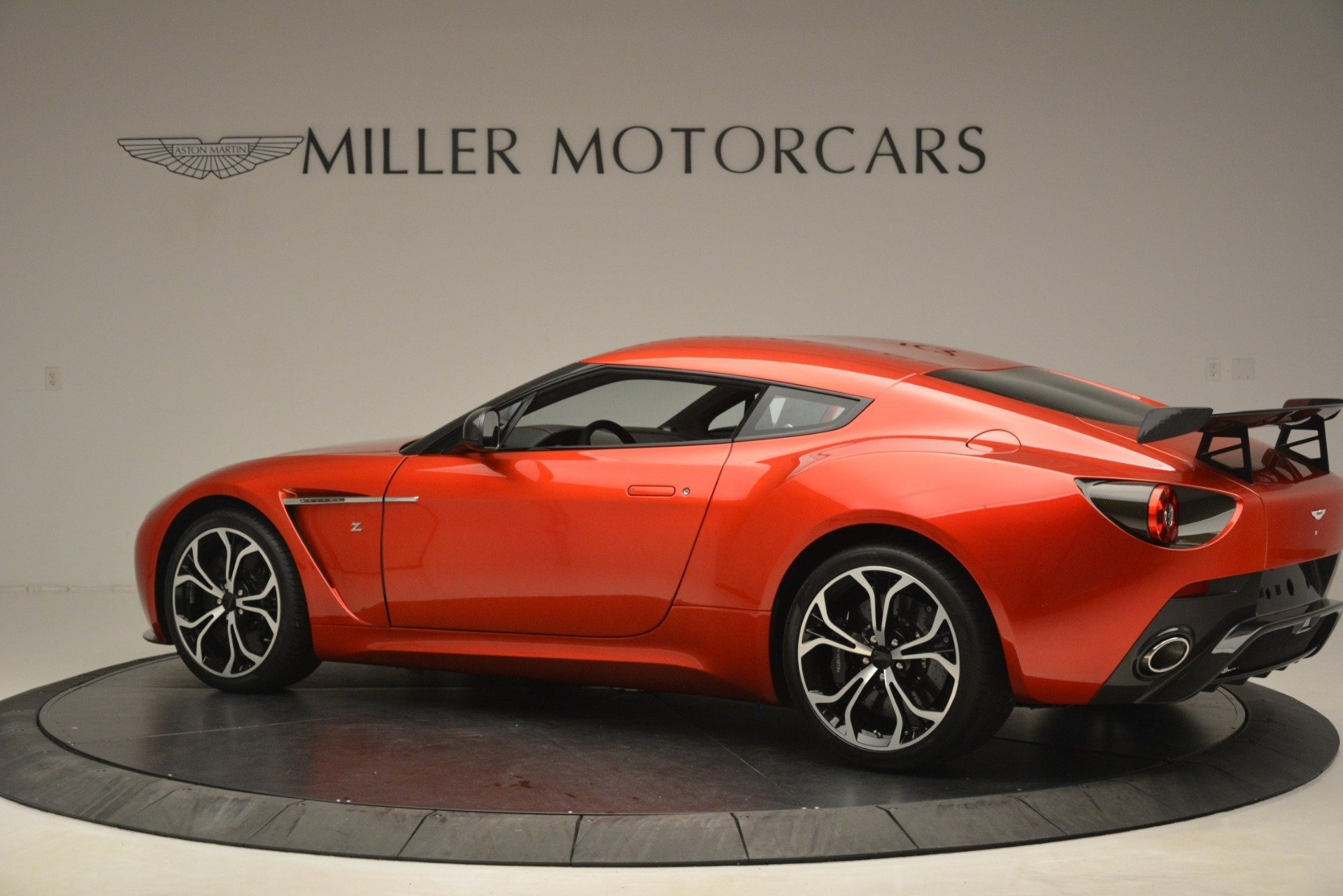 Pre Owned 2013 Aston Martin V12 Zagato Coupe For Sale 655 900 Mclaren Greenwich Stock 7936c