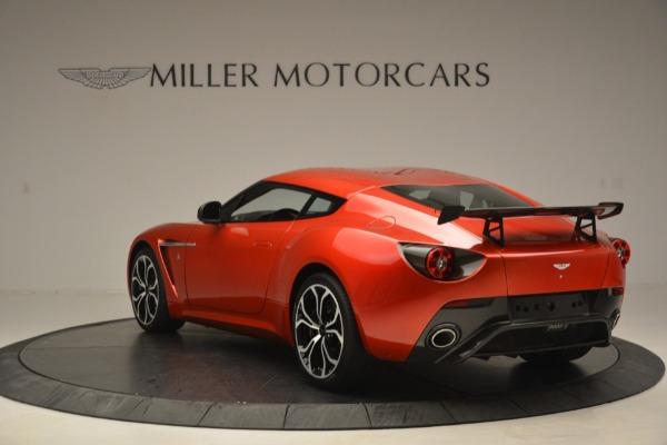 Used 2013 Aston Martin V12 Zagato Coupe for sale Sold at McLaren Greenwich in Greenwich CT 06830 4