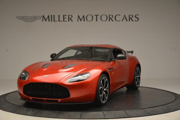Used 2013 Aston Martin V12 Zagato Coupe for sale Sold at McLaren Greenwich in Greenwich CT 06830 1