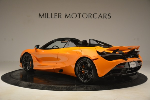 New 2020 McLaren 720S SPIDER Convertible for sale $407,450 at McLaren Greenwich in Greenwich CT 06830 2