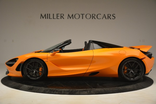 New 2020 McLaren 720S SPIDER Convertible for sale $407,450 at McLaren Greenwich in Greenwich CT 06830 3