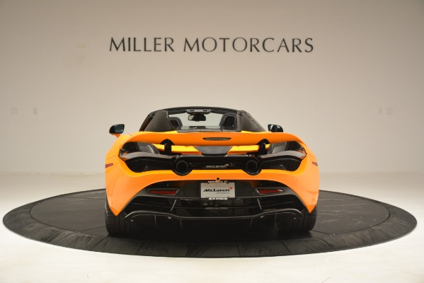 New 2020 McLaren 720S SPIDER Convertible for sale $407,450 at McLaren Greenwich in Greenwich CT 06830 4