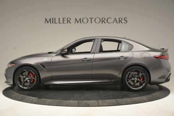 New 2019 Alfa Romeo Giulia Quadrifoglio for sale $79,340 at McLaren Greenwich in Greenwich CT 06830 3