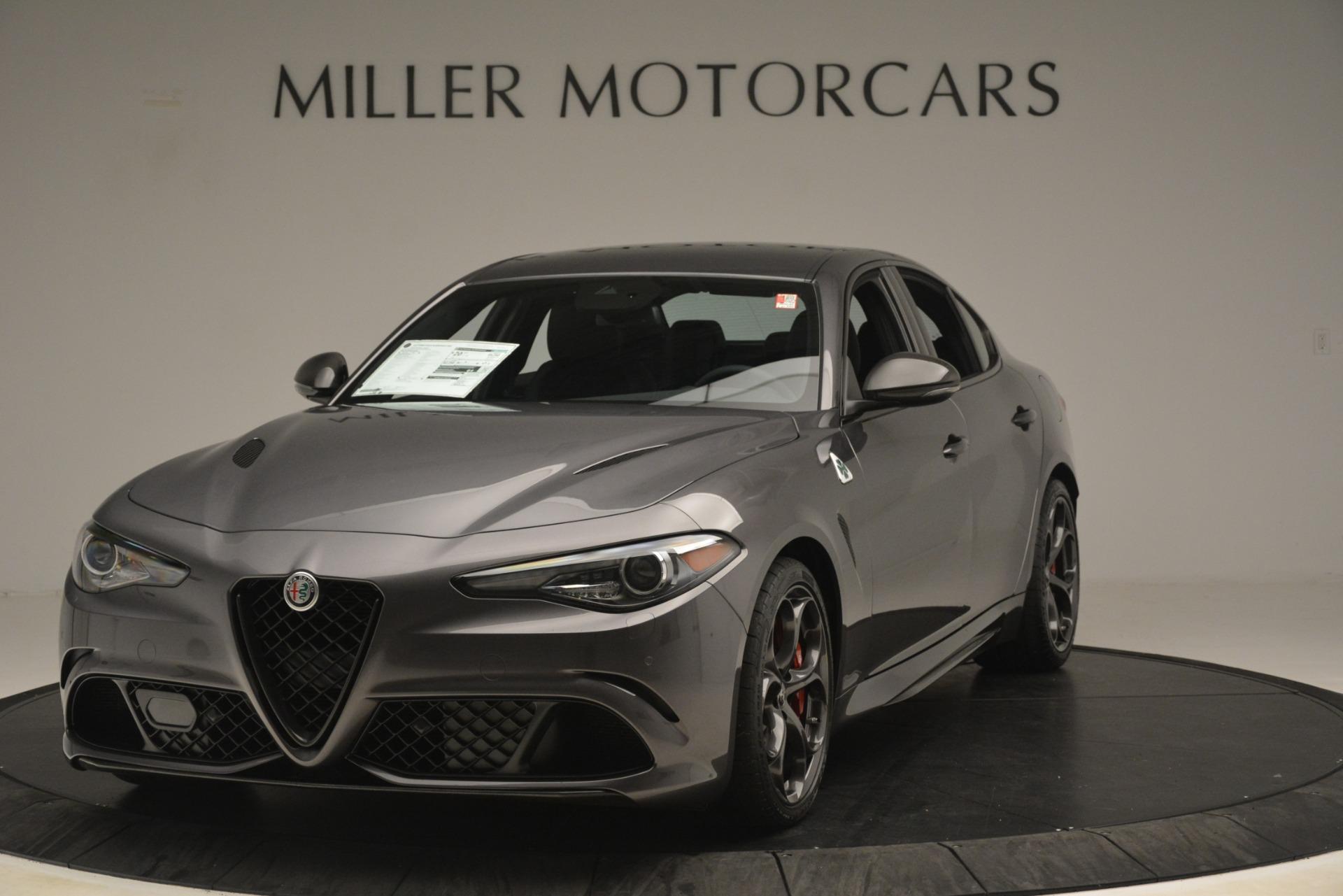 New 2019 Alfa Romeo Giulia Quadrifoglio for sale $79,340 at McLaren Greenwich in Greenwich CT 06830 1