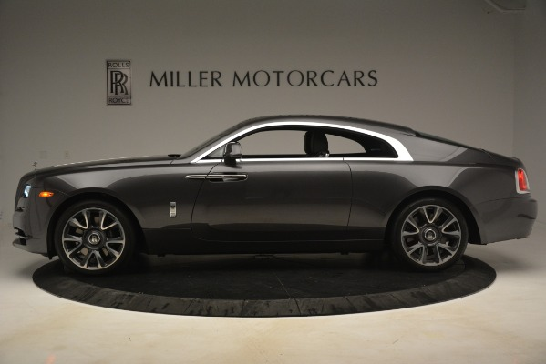 Used 2018 Rolls-Royce Wraith for sale Sold at McLaren Greenwich in Greenwich CT 06830 4