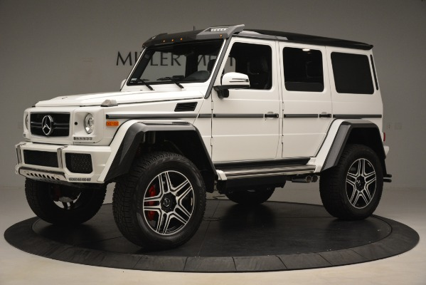 Used 2018 Mercedes-Benz G-Class G 550 4x4 Squared for sale Sold at McLaren Greenwich in Greenwich CT 06830 2