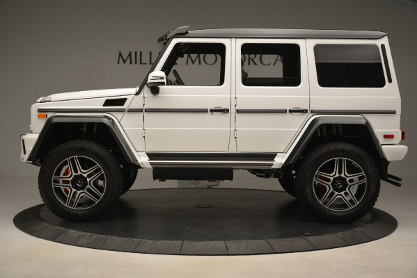 Used 2018 Mercedes-Benz G-Class G 550 4x4 Squared for sale Sold at McLaren Greenwich in Greenwich CT 06830 3
