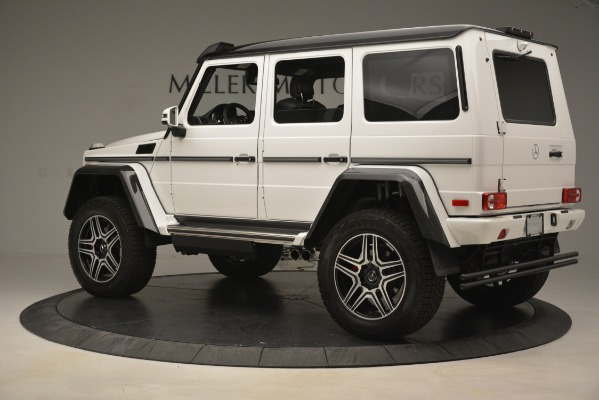 Used 2018 Mercedes-Benz G-Class G 550 4x4 Squared for sale Sold at McLaren Greenwich in Greenwich CT 06830 4