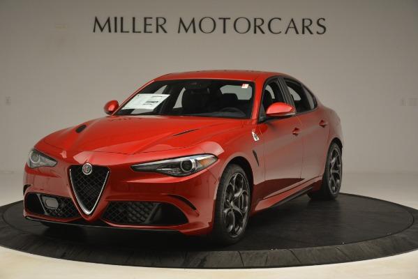 New 2019 Alfa Romeo Giulia Quadrifoglio for sale Sold at McLaren Greenwich in Greenwich CT 06830 1