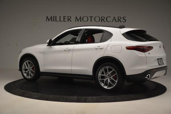 New 2019 Alfa Romeo Stelvio Ti Sport Q4 for sale Sold at McLaren Greenwich in Greenwich CT 06830 4