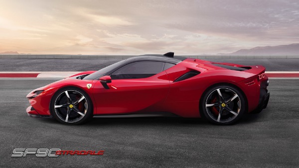 New 2020 Ferrari SF90 Stradale for sale Call for price at McLaren Greenwich in Greenwich CT 06830 3
