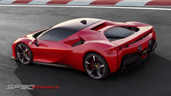 New 2020 Ferrari SF90 Stradale for sale Call for price at McLaren Greenwich in Greenwich CT 06830 4