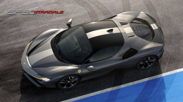 New 2021 Ferrari SF90 Stradale for sale Call for price at McLaren Greenwich in Greenwich CT 06830 1