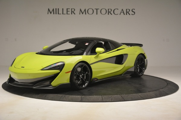 New 2020 McLaren 600LT Spider for sale $281,570 at McLaren Greenwich in Greenwich CT 06830 2
