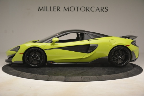 New 2020 McLaren 600LT SPIDER Convertible for sale $281,570 at McLaren Greenwich in Greenwich CT 06830 3
