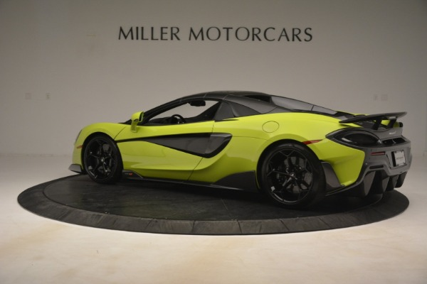 New 2020 McLaren 600LT SPIDER Convertible for sale $281,570 at McLaren Greenwich in Greenwich CT 06830 4
