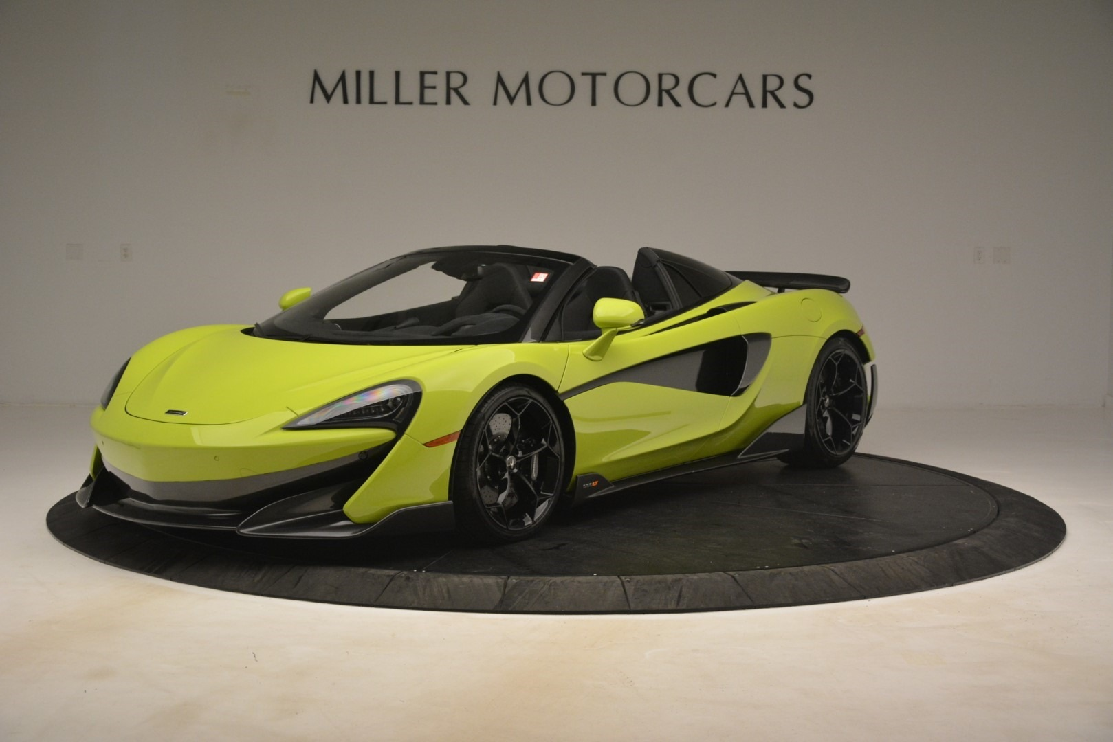 New 2020 McLaren 600LT Spider for sale $281,570 at McLaren Greenwich in Greenwich CT 06830 1