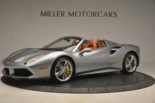 Used 2019 Ferrari 488 Spider for sale Sold at McLaren Greenwich in Greenwich CT 06830 2