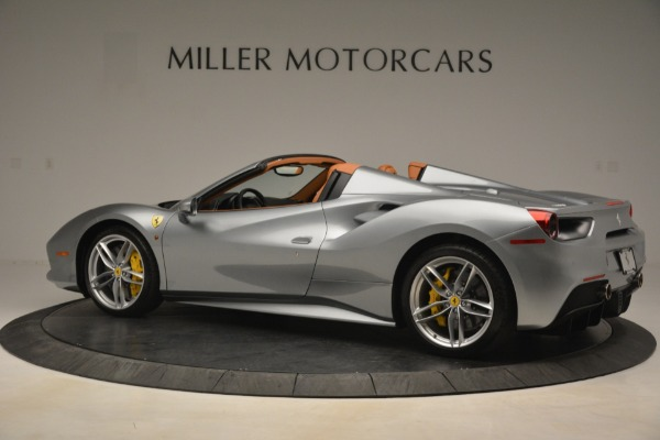 Used 2019 Ferrari 488 Spider for sale Sold at McLaren Greenwich in Greenwich CT 06830 4