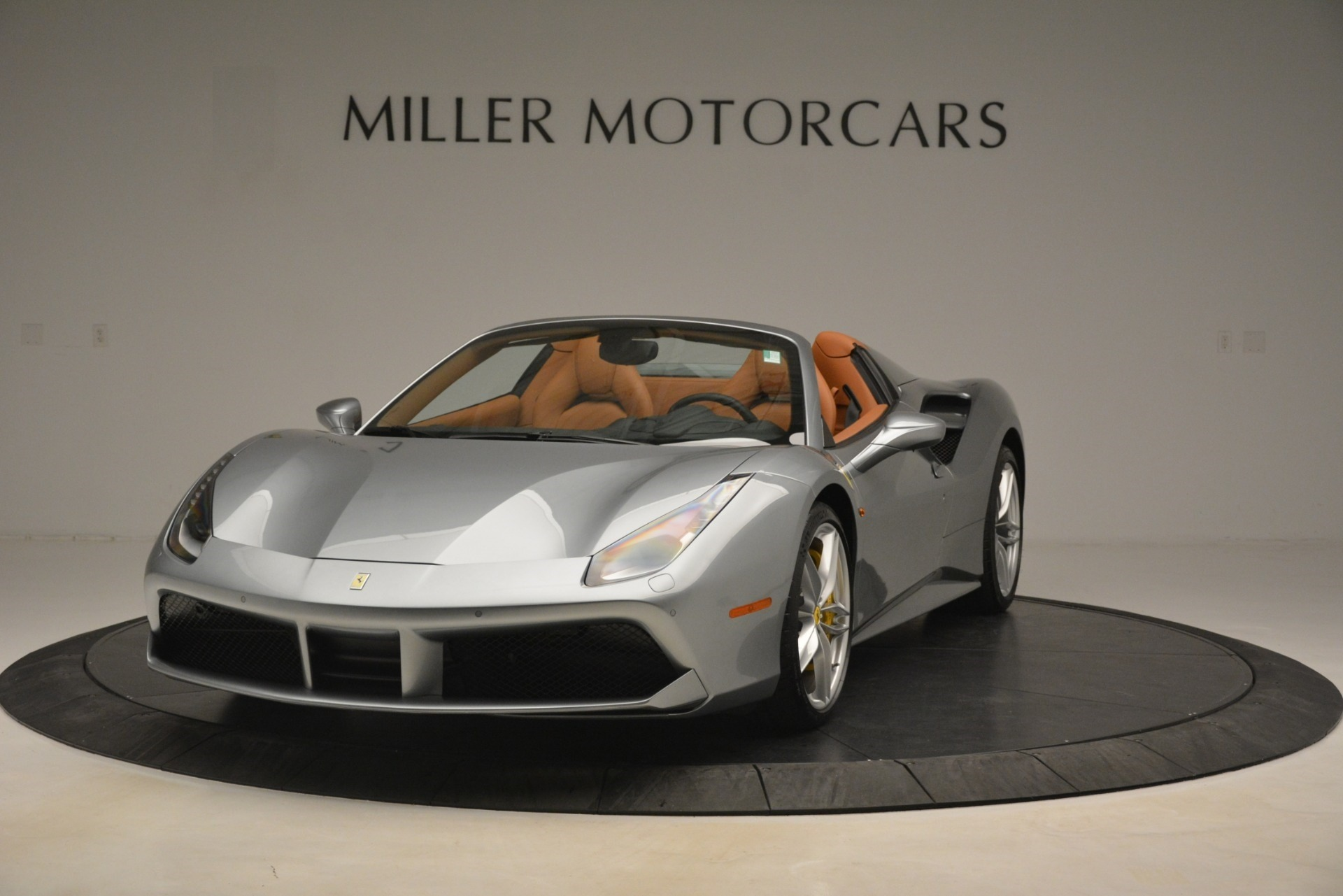 Used 2019 Ferrari 488 Spider for sale Sold at McLaren Greenwich in Greenwich CT 06830 1