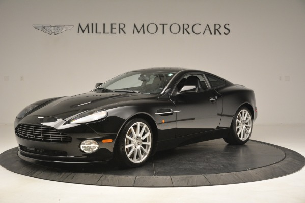 Used 2005 Aston Martin V12 Vanquish S Coupe for sale Sold at McLaren Greenwich in Greenwich CT 06830 1