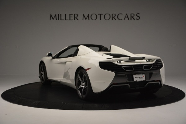Used 2015 McLaren 650S Convertible for sale Sold at McLaren Greenwich in Greenwich CT 06830 4