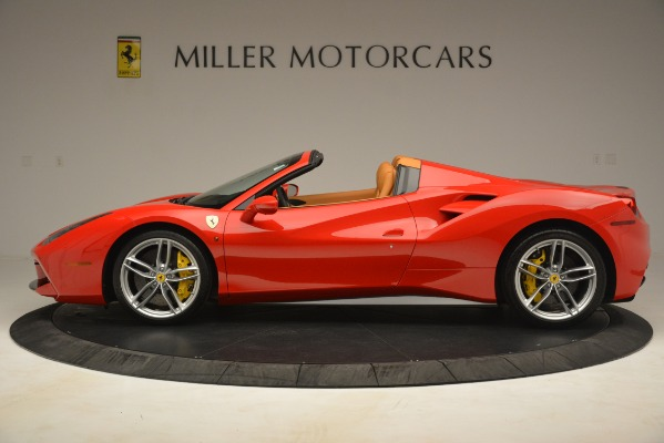 Used 2018 Ferrari 488 Spider for sale Sold at McLaren Greenwich in Greenwich CT 06830 3