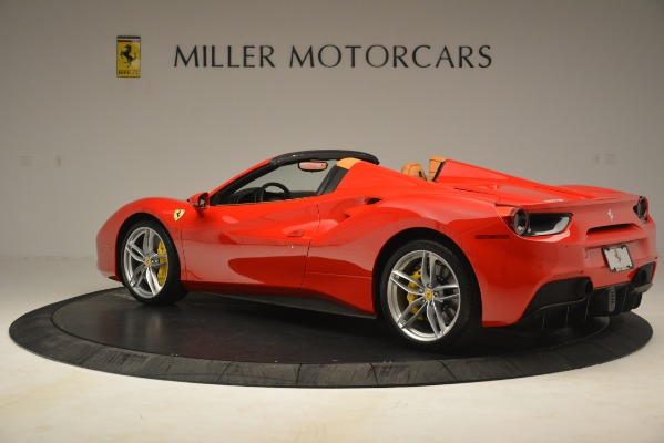 Used 2018 Ferrari 488 Spider for sale Sold at McLaren Greenwich in Greenwich CT 06830 4