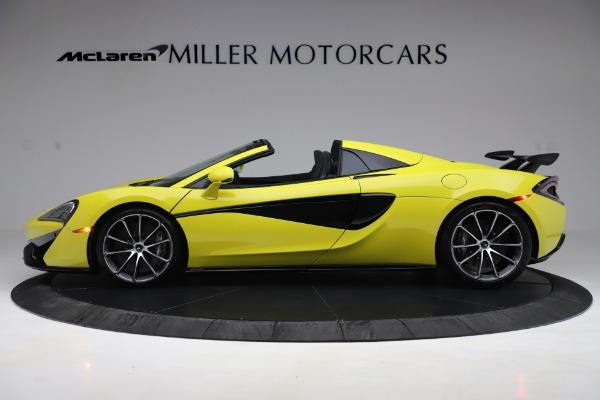 New 2019 McLaren 570S SPIDER Convertible for sale $227,660 at McLaren Greenwich in Greenwich CT 06830 2